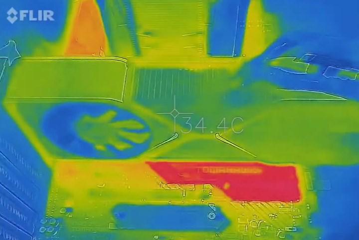 RTX 3080'in termal videosu yayınlandı