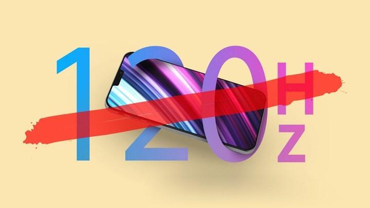 iPhone 12 serisi 120 Hz ekrana sahip olmayacak