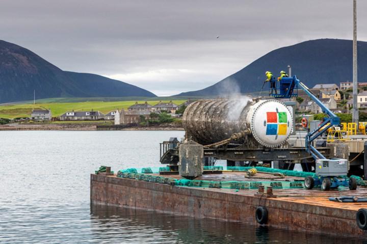 Microsoft'un su altında çalışan sunucu deneyi başarılı oldu