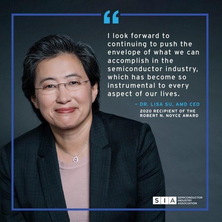 AMD patronu Lisa Su'ya büyük onur