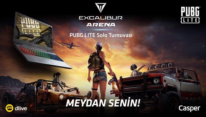 Excalibur Arena PUBG Lite Solo Turnuvası başlıyor