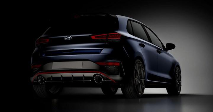 Makyajlı Hyundai i30 N'den ilk görüntü geldi