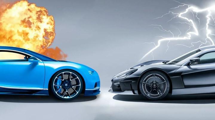 Volkswagen Grubu'nun Bugatti'yi Hırvat marka Rimac'a satacağı iddia ediliyor