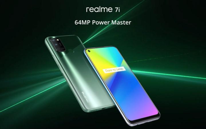 Realme 7i tanıtıldı: 90 Hz ekran, 5.000 mAh pil ve dört arka kamera