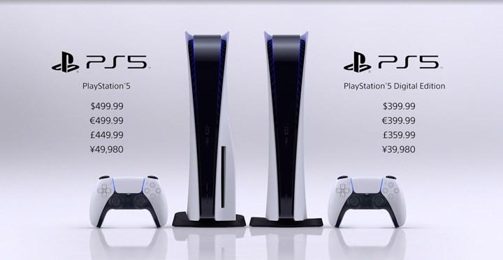 PS5 fiyatı resmen açıklandı! İşte dijital ve diskli PS5 fiyatları