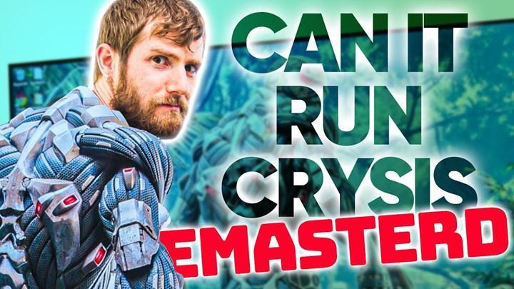 """Crysis Remastered'ın """"Crysis açar mı? """" grafik ayarı, 4K'da RTX 3080'e resmen kök söktürdü"""