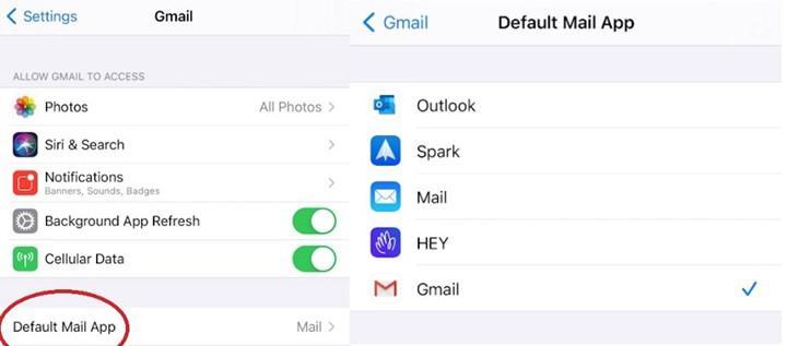 iOS 14 sürümünde varsayılan mail uygulaması nasıl belirlenir?
