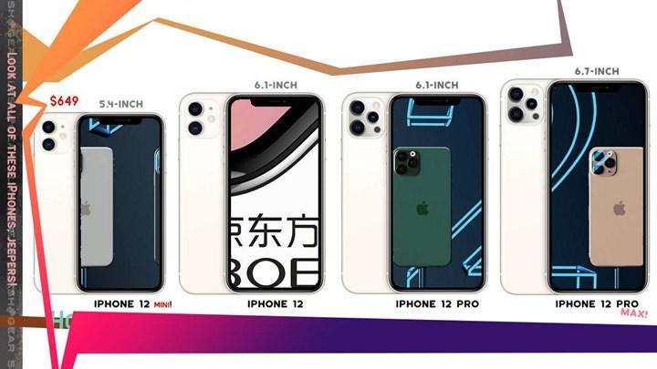iPhone 12 mini ortaya çıktı