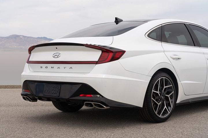 Hyundai, yeni Sonata N Line'ın tasarımını paylaştı