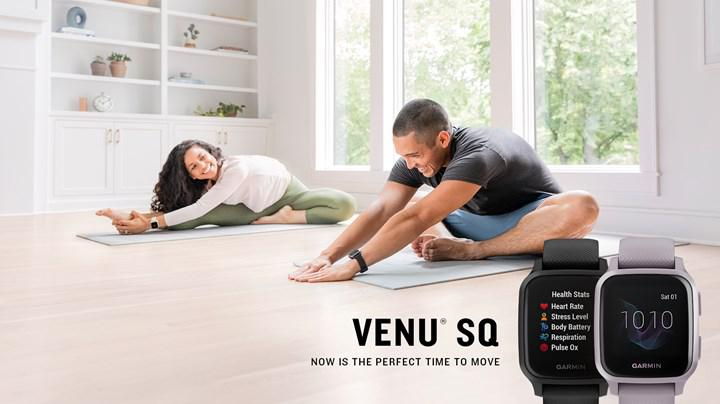 Garmin Venu Sq akıllı saatleri GPS ve bağımsız müzik oynatmaya odaklanıyor