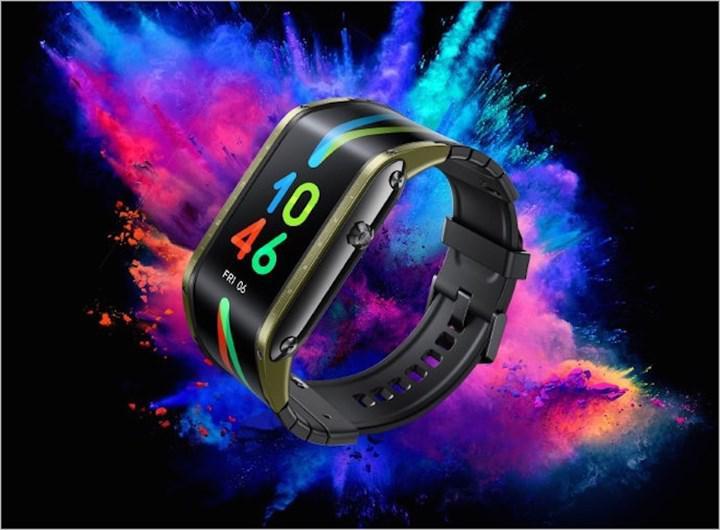 Sıradışı tasarıma sahip akıllı saat Nubia Watch, küresel pazarlara geliyor
