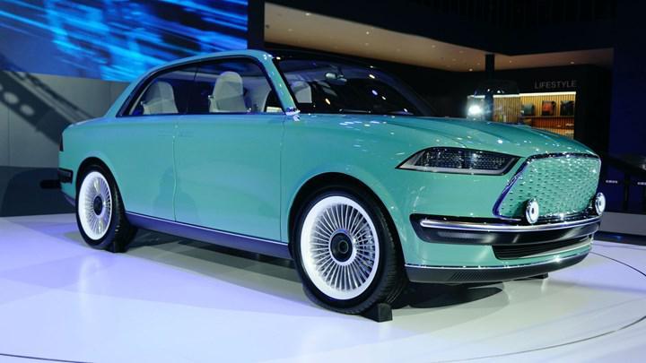 Çinli Great Wall Motors, yeni elektrikli sedan konsepti Futurist'i gösterdi