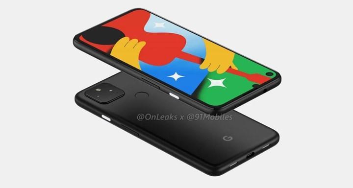 Google Pixel 5 ilk kez canlı olarak görüntülendi
