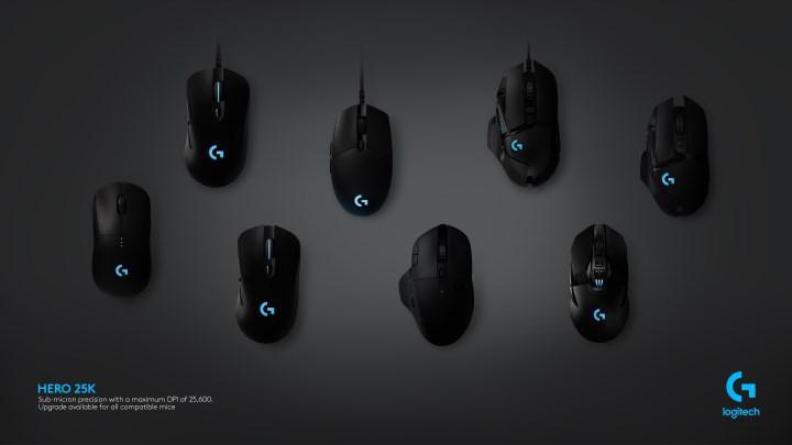Piyasadaki Logitech mouse'lara Hero 25K sensör özelliği geldi
