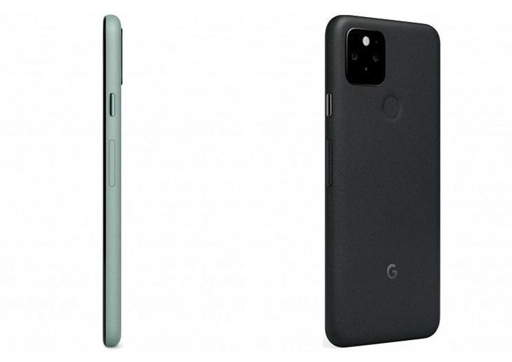 Google Pixel 5'in yüksek kaliteli görselleri yayınlandı