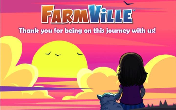 FarmVille veda ediyor