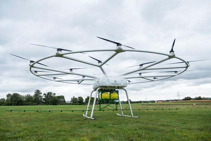 Volocopter, üç yıl içinde Japonya'da hava taksisi faaliyetlerine başlamaya hazırlanıyor