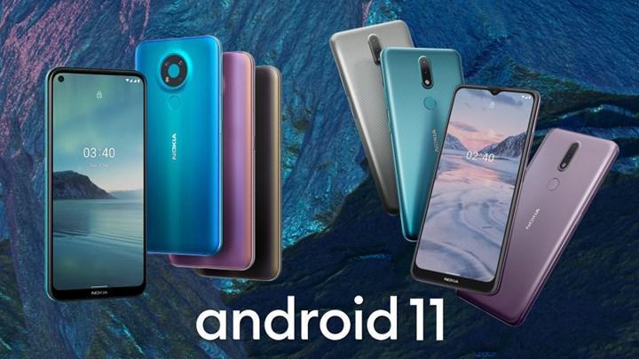 Nokia telefonların Android 11 güncelleme takvimi belli oldu