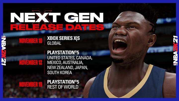NBA 2K21'in yeni nesil konsollara çıkış tarihi açıklandı