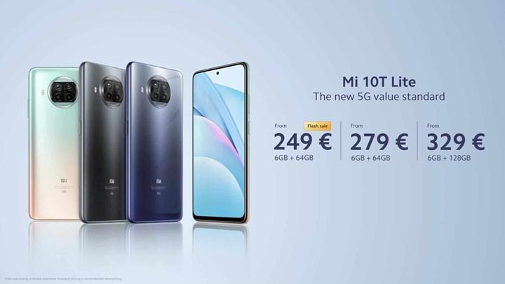 Xiaomi Mi 10T Lite tanıtıldı: İşte özellikleri ve fiyatı