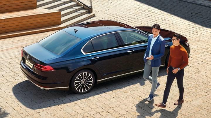 2021 Volkswagen Phideon, yeni tasarımı ve özellikleriyle Pekin'de görücüye çıktı