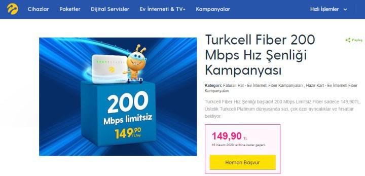 Upload çilesi bitmiyor: 200 Mbps'lik tarifede 5 Mbps upload
