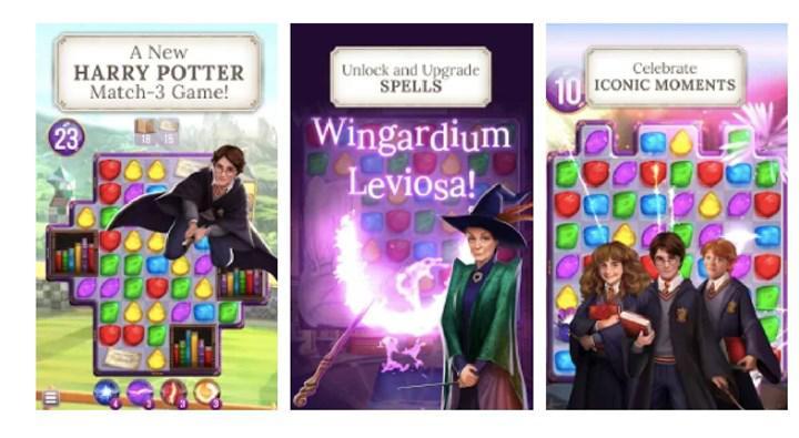 Harry Potter: Puzzles & Spells beğeni topluyor