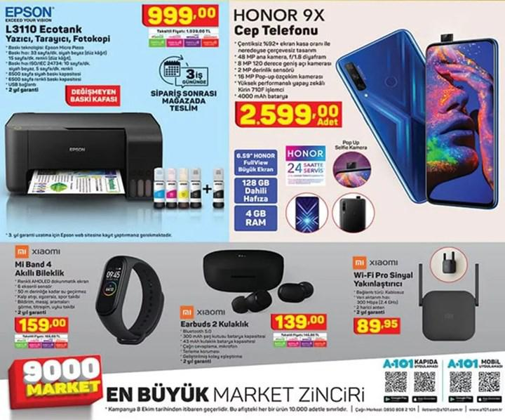 Haftaya A101 marketlerde Mi Band 4, ŞOK marketlerde iyi fiyata Galaxy Tab A8 2019 var