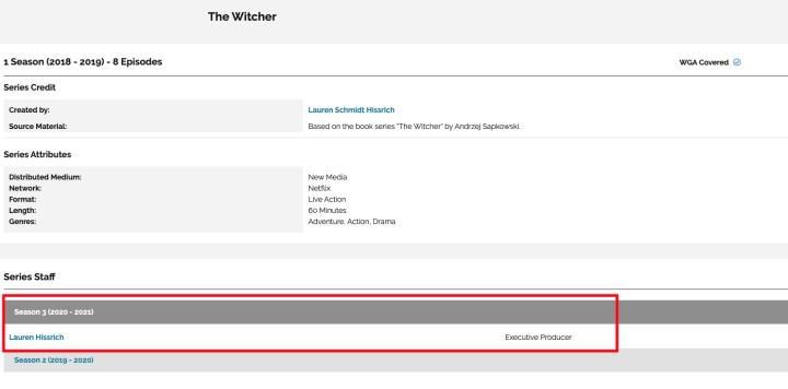 The Witcher dizisinin 3. sezonu da şimdiden onaylandı gibi