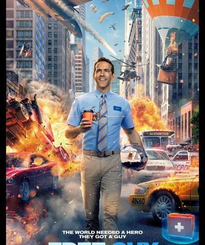 Ryan Reynolds'ın yeni fantastik/macera filmi Free Guy'dan ilginç fragman
