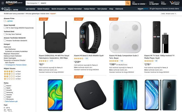 Amazon'dan Prime kullanıcılarına özel Xiaomi kampanyası