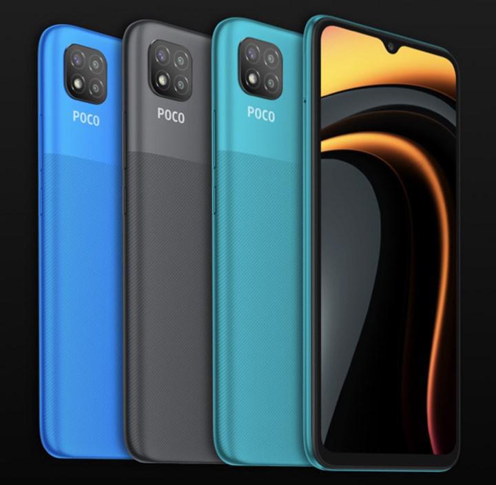 Xiaomi, 100 dolardan satacağı Poco C3'ü tanıttı: 6.5 inç ekran, 5.000 mAh pil
