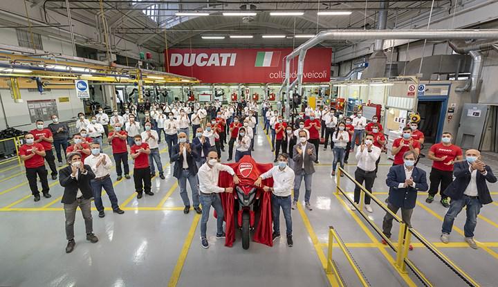 Ön ve arka radar teknolojisine sahip ilk motosikletin üretimine başlandı: Ducati Multistrada V4