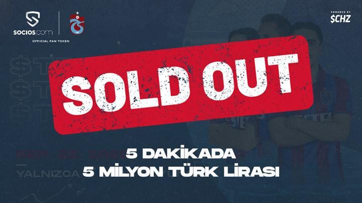 Trabzonspor kripto para dünyasına yükselişle başladı