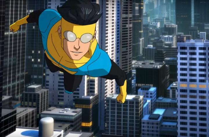 Amazon'un +18 süper kahraman dizisi Invincible'dan ilk fragman