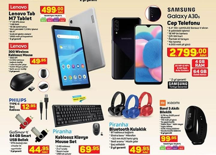 Haftaya A101 ve BİM marketlerde farklı tablet modelleri ve bilgisayar aksesuarları var