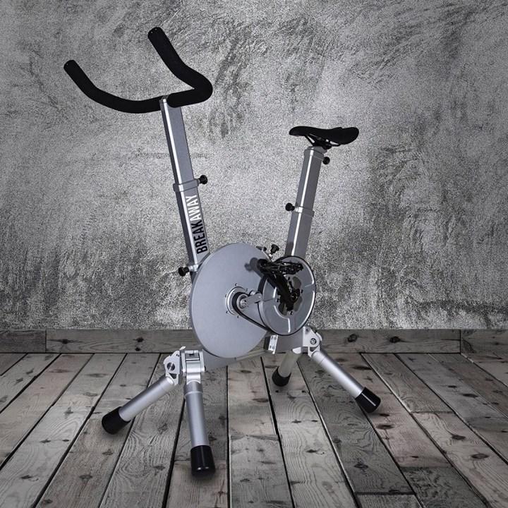 Taşınabilir egzersiz bisikleti geliştirildi