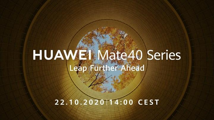 Huawei Mate 40 serisi için tarih belli oldu
