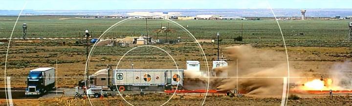 ABD Savunma Bakanlığı, nükleer silah sevkiyatında kullanacağı yeni tır römorkunu test etti