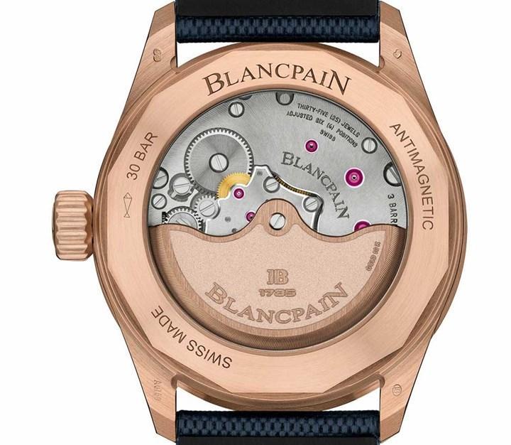 Blancpain firması Fifty Fathoms Bathyscaphe Sedna Gold modelini duyurdu