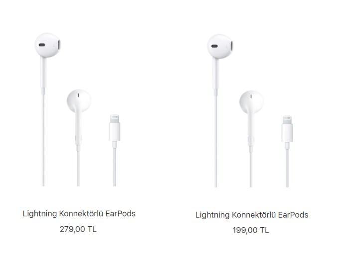 Apple kulaklık ve güç adaptörleri indirime giriyor