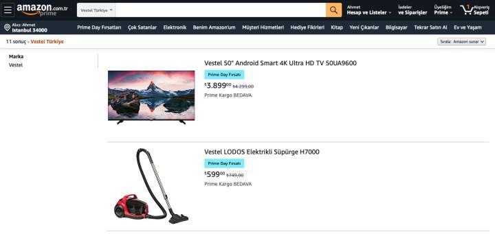 Amazon'da uygun fiyata Vestel ve Monster Notebook fırsatları var
