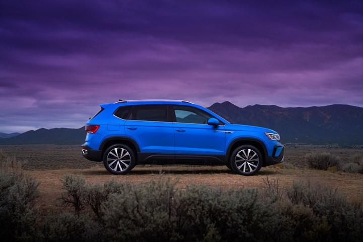 Alman üreticiden bir SUV daha: İşte yeni Volkswagen Taos