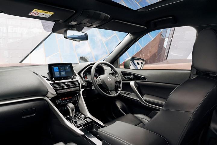 Makyajlı 2021 Mitsubishi Eclipse Cross tanıtıldı