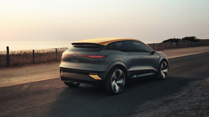 İşte elektrikli araç dünyasının Megane'ı: Yeni Renault Megane eVision konsepti tanıtıldı