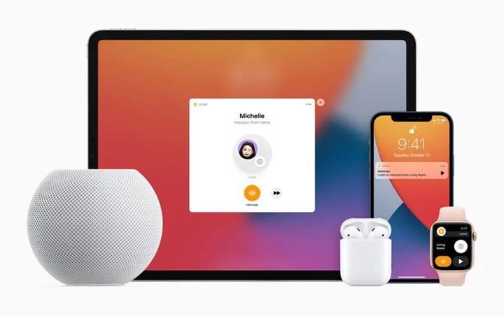 Apple cihazları Intercom özelliğine geçiş yapıyor