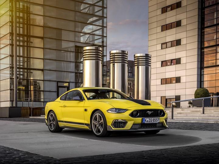 2020 Ford Mustang Mach 1 Avrupa pazarına giriş yaptı