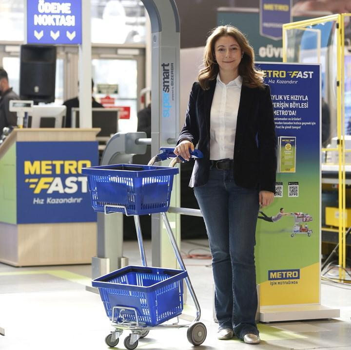 Metro Fast alışveriş çözümüyle kasa kuyruğu ortadan kalkıyor