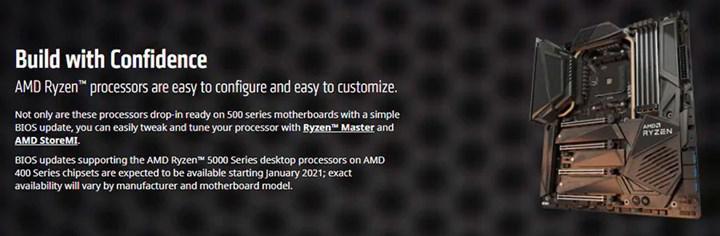 MSI tüm 400 serisi anakartlarına Ryzen 5000 güncellemesi verecek