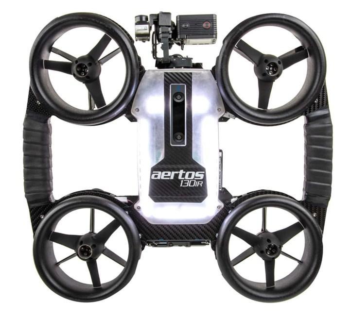 Dayanıklılık odaklı iç ortam dronu Aertos 130IR geliyor